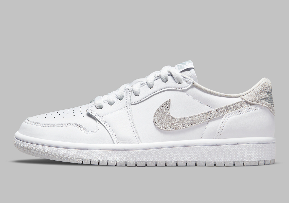 Air Jordan 1 Low OG White Neutral Grey CZ0775-100 | SneakerNews.com