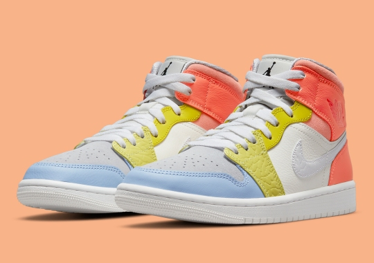 """Air Jordan 1 Mid Added To The Upcoming """"To My First Coach"""" Capsule"""