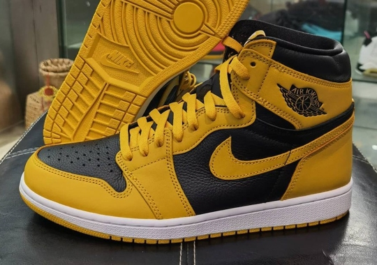 "Air Jordan 1 Retro High OG ""Pollen"" Releases On August 21st"