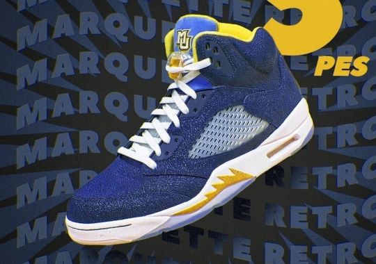 Marquette Reveals Air Jordan 5 PE
