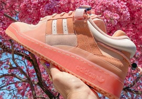 Bad Bunny x adidas Forum Buckle Low Releasing In Pink