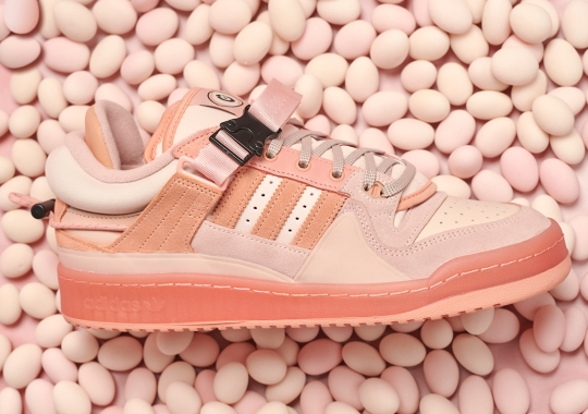 """Bad Bunny's adidas Forum Buckle Low """"Easter Egg"""" Drops On Easter Sunday"""