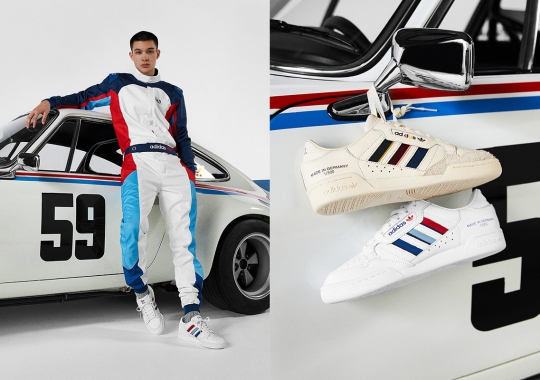 """The END. x adidas """"German Engineering"""" Capsule Is Inspired By Iconic German Automotives"""
