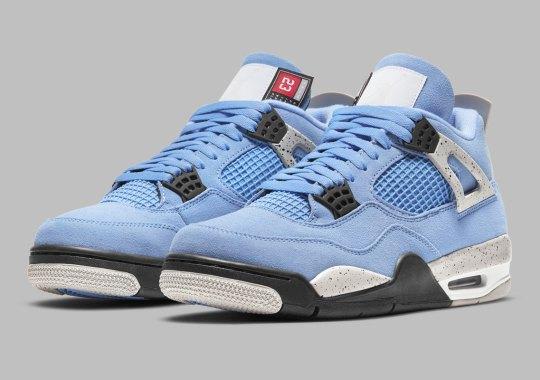 "Official Images Of The Air Jordan 4 ""University Blue"""
