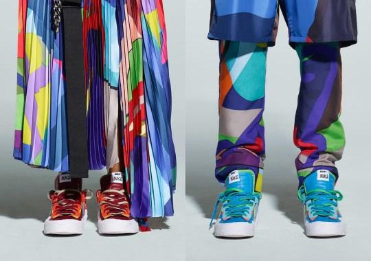 KAWS And sacai Reveal Nike Blazer Low Collaboration