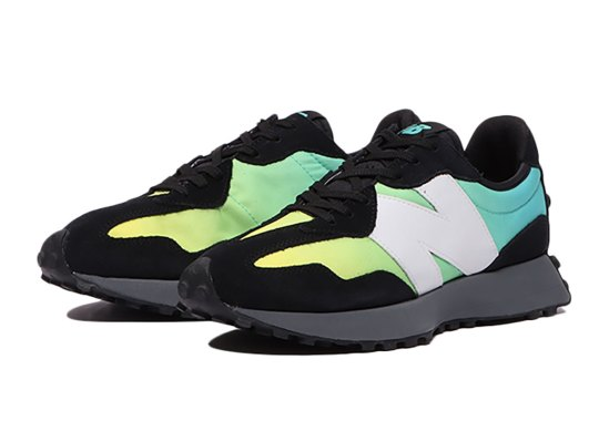 """The New Balance 327 Accents With A """"Summer Jade"""" Gradient"""