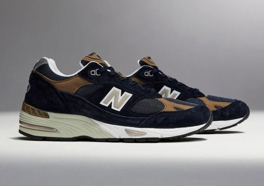 The New Balance 991 Made In UK Returns With Stately Navy And Tan