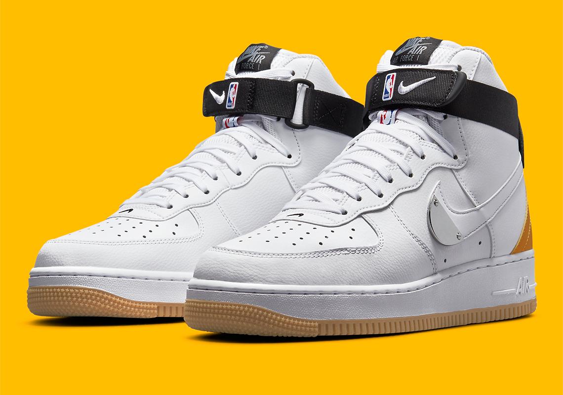 NBA Nike Air Force 1 High CT2306-101 | SneakerNews.com