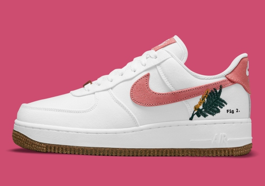 """The Nike Air Force 1 Low """"Catechu"""" Joins The Plant-Dye Collection"""
