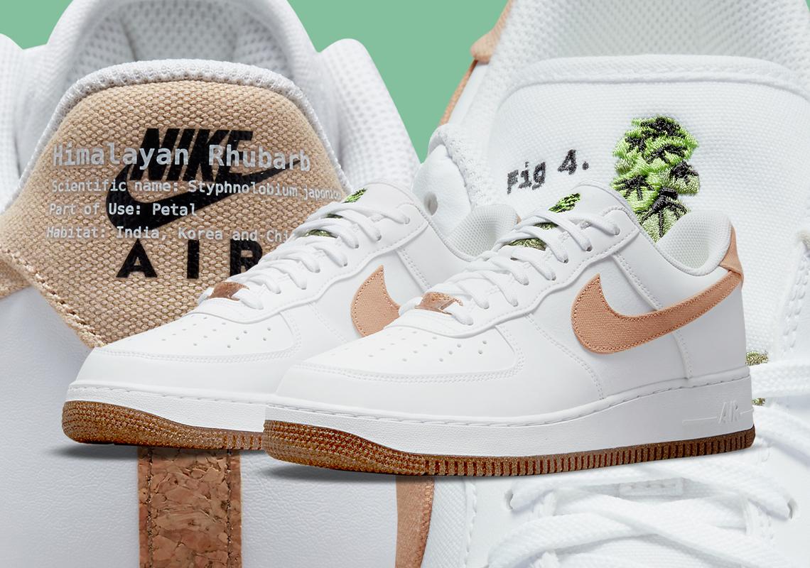 Nike Air Force 1 Low Himalayan Rhubarb CZ0338-101 | SneakerNews.com