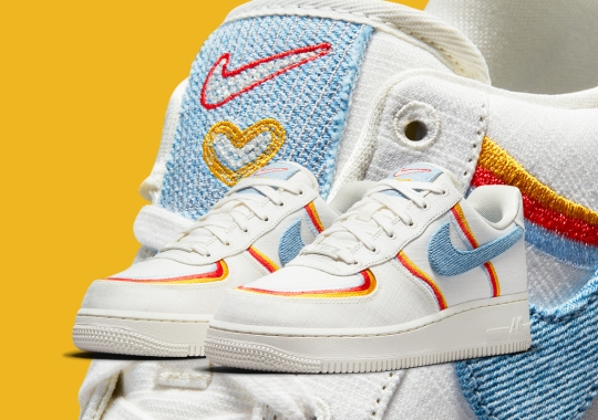 This Women's Nike Air Force 1 Was Made With Love