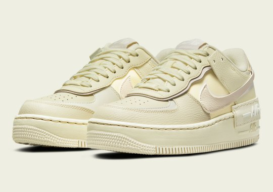 """The Nike Air Force 1 Shadow Gets A Full Glass Of """"Coconut Milk"""""""