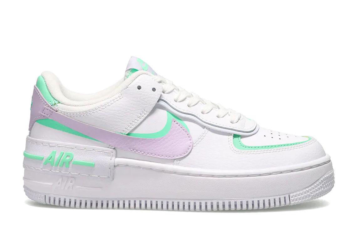 Nike Air Force 1 Shadow Infinite Lilac CU8591-103 | SneakerNews.com