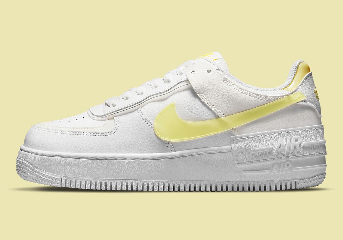 Nike Air Force 1 Shadow White Yellow DM3034-100   SneakerNews.com