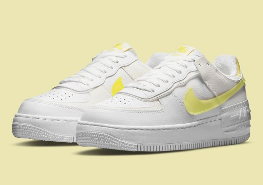 The Nike Air Force 1 Shadow Applies Translucent Lemon Yellow