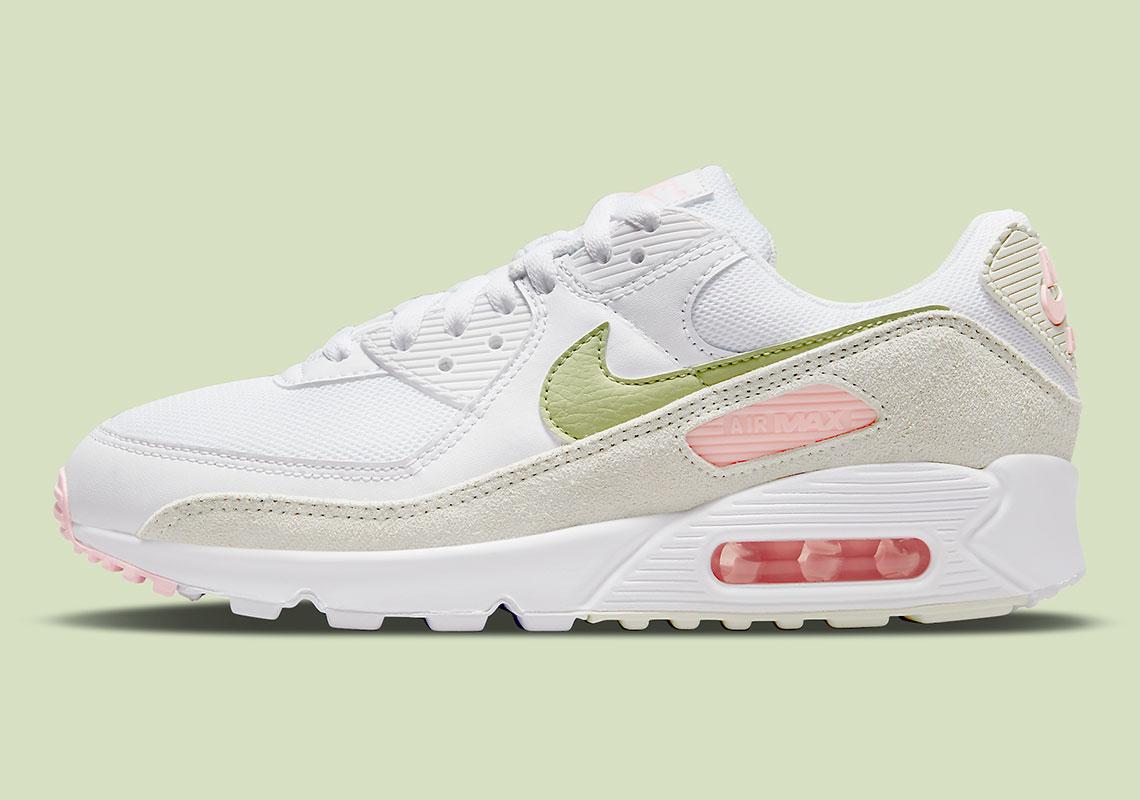 Nike Air Max 90 WMNS Light Olive DM2874-100   SneakerNews.com