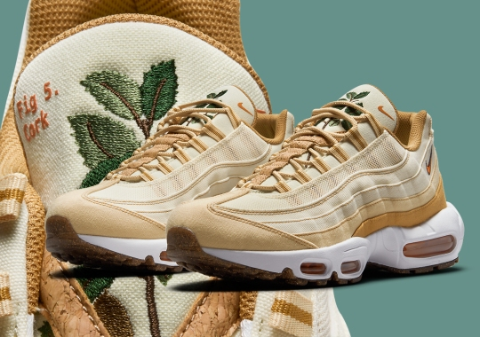 "The Nike Air Max 95 Joins The Praiseworthy ""Plant-Based"" Collection"