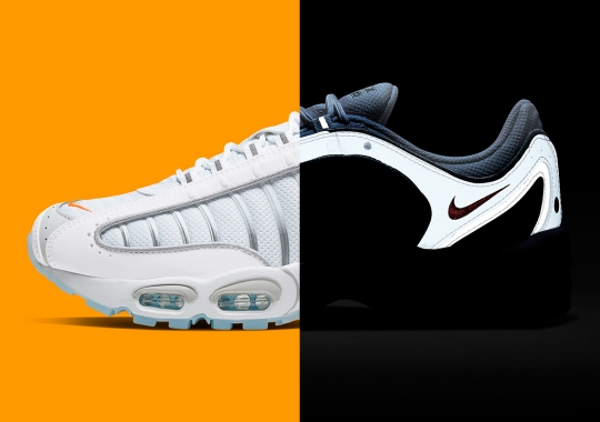 """This Reflective Nike Air Max Tailwind 4 """"Platinum Tint"""" Is Available Now"""