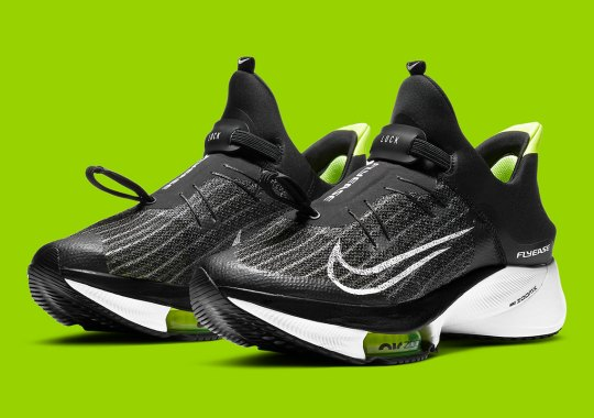 The Nike Zoom Tempo NEXT% FlyEase Returns In Black And Volt