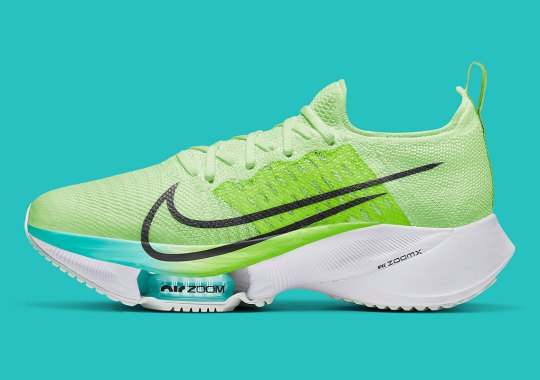 The Nike Zoom Tempo NEXT% Emerges With Summer-Ready Neon And Turquoise
