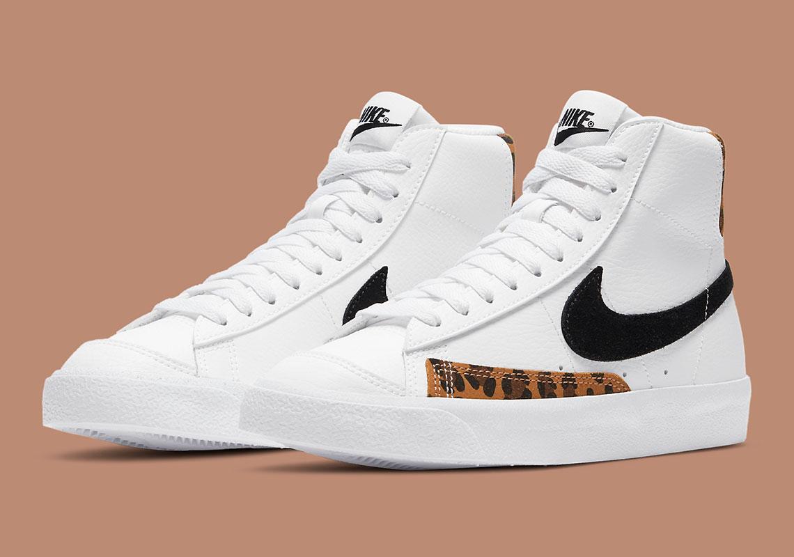 Nike Blazer Mid '77 GS White/Black DJ4603-100 | SneakerNews.com
