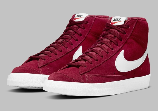 "The Nike Blazer Mid '77 Gets A Simple ""Team Red"" Suede"