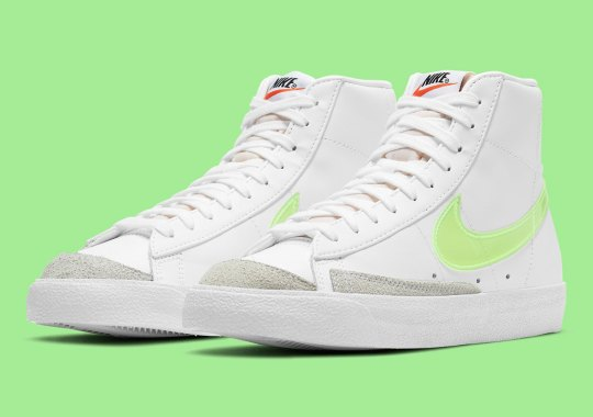 The Nike Blazer Mid '77 Adds Embroidered Swoosh Edges