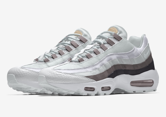 The Nike By You Air Max 95 Pushes The Limits Of Luxury
