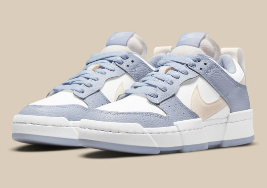 """The Nike Dunk Low Disrupt """"Ghost"""" Brings Tumbled Leather Back Into The Fold"""