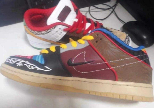 """First Look At The Nike SB Dunk Low """"What The P-Rod"""""""