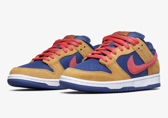 """The Nike SB Dunk Low Appears In A Reverse """"Papa Bear"""" Colorway"""