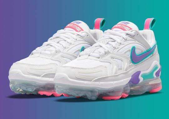 "A 90's Friendly ""Hyper Grape"" Appears On This Women's Nike Vapormax Evo"