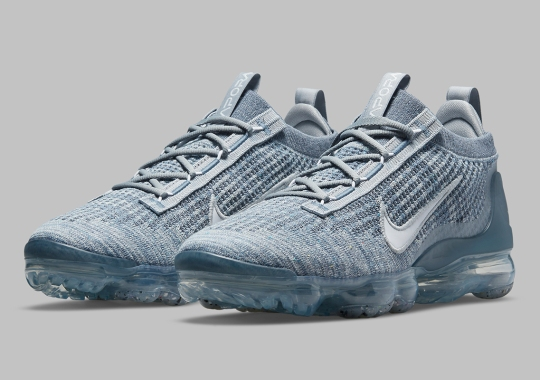 The Nike Vapormax Flyknit 2021 Boasts A Chilly Blue Colorway