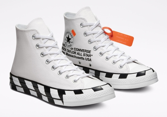 Off-White And Converse To Re-release The Chuck 70