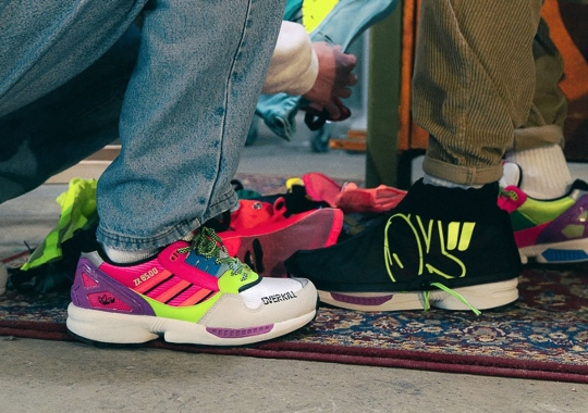 Overkill's Graffiti-Inspired adidas ZX 8500 Hybrid Includes Protective Coverings