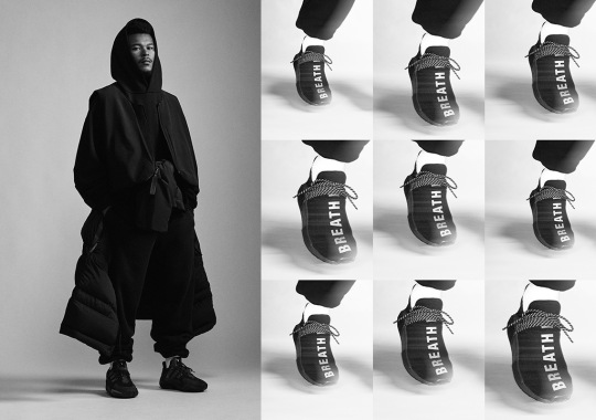 "Na-Kel Smith And Jordan Daniels Unveil Pharrell's adidas PW ""Triple Black"" Collection"
