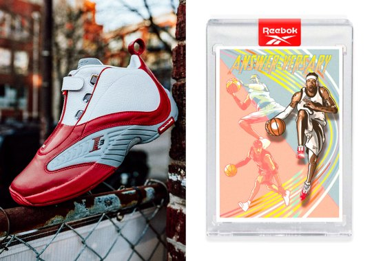"""Reebok's 20th Anniversary Drop Of The Answer IV Includes A Limited """"Answer-versary"""" Trading Card"""