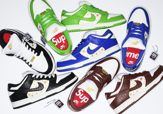 Supreme Officially Announces Their Nike SB Dunk Low Release