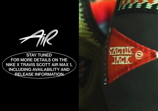 Travis Scott's Nike Air Max 1 Revealed On Air Max Day