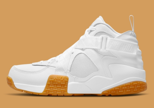 The Nike Air Raid Gets A Summer-Ready White And Gum Mix