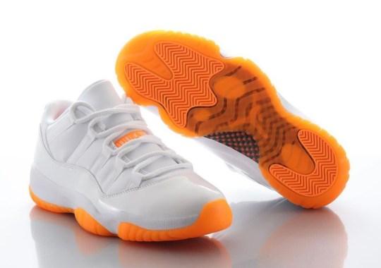 """Where To Buy The Air Jordan 11 Low """"Citrus"""""""