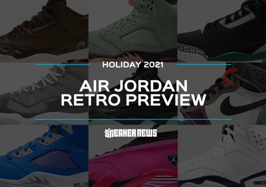 Air Jordan Retro Holiday 2021 To Include A Number Of Brand New Colorways Of AJ1s, AJ4s, And More