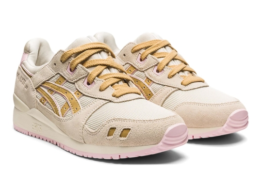 ASICS Offers Up A Spring-Ready GEL-Lyte III In Birch, Camel, And Pink
