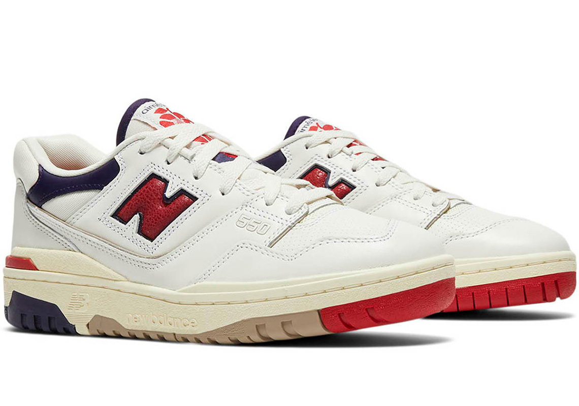 Aime Leon Dore New Balance 550 Red BB550A3 Release Date ...