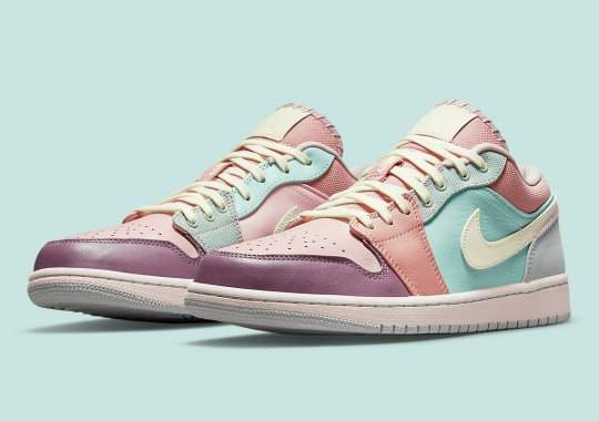 The Air Jordan 1 Low Breaks Out The Pastels Right In Time For Spring/Summer