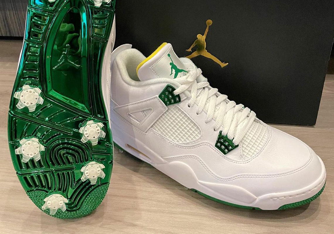 Bubba Watson Air Jordan 4 Golf Masters   SneakerNews.com