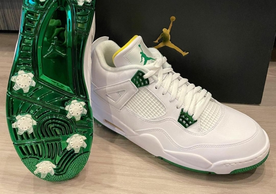 Bubba Watson Reveals Air Jordan 4 Golf For The Masters