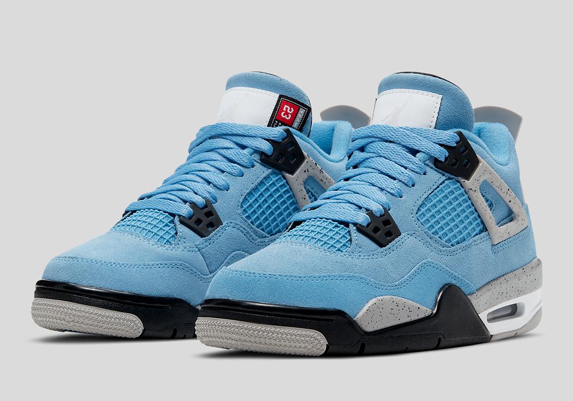 Air Jordan 4 University Blue GS PS TD Release Date | SneakerNews.com