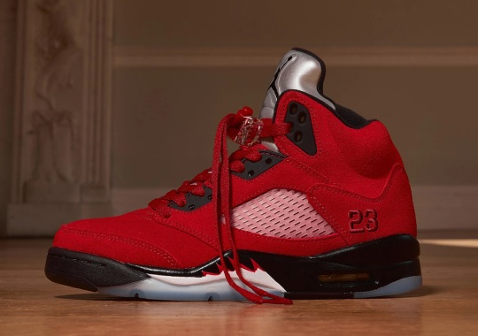 "The Air Jordan 5 ""Toro Bravo"" Releases In Europe This Friday"