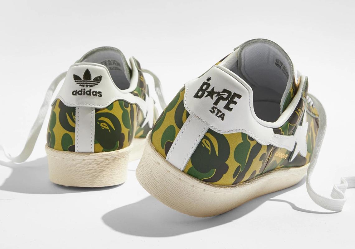 BAPE adidas Superstar ABC Camo GZ8981 Release   SneakerNews.com